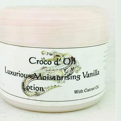 Croco D'oil Luxurious Moisturising Vanilla Lotion with Carrot Oil image