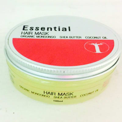 Essential Hair Mask Organic Mongongo, Shea Butter & Coconut Oil image