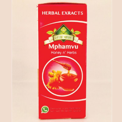 Herbal Extracts Gift of Nature Mphamvu Honey & Herbs 250ml image