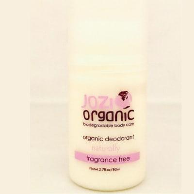 Jozi Organic Natural Fragrance Free   Deodorant 80ml image