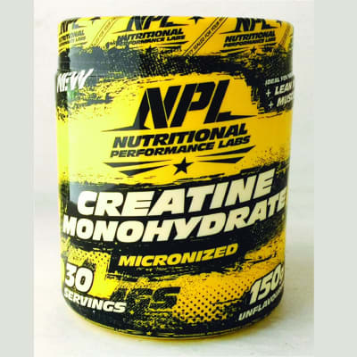 NPL - Unflavoured Micronized Creatine Monohydrate image
