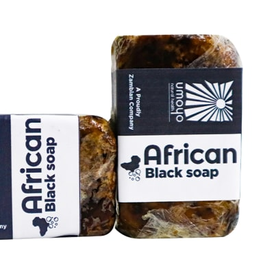 African Black Soap 100%  Natural Ingredients image