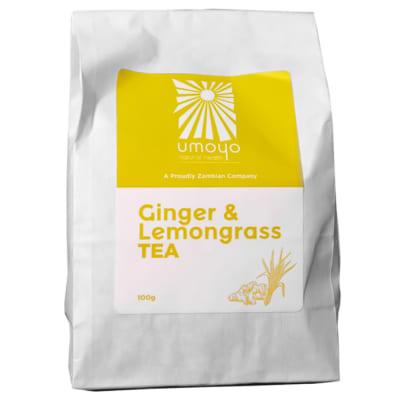 Herbal Tea Ginger & Lemongrass Tea  100g  image