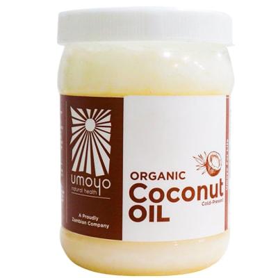 Organic Cold-Pressed Coconut Oil image