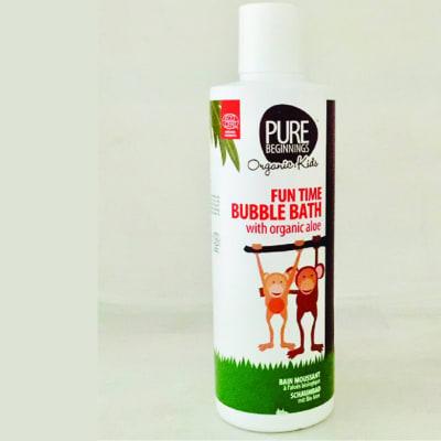 Pure Beginnings Fun Time Bubble Bath with Organic Aloe image