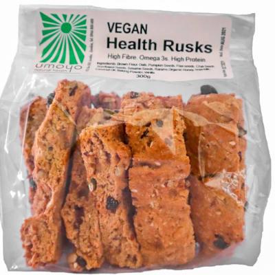 Vegan Health Rusks  High in Fibre Protein & Omega 3 image