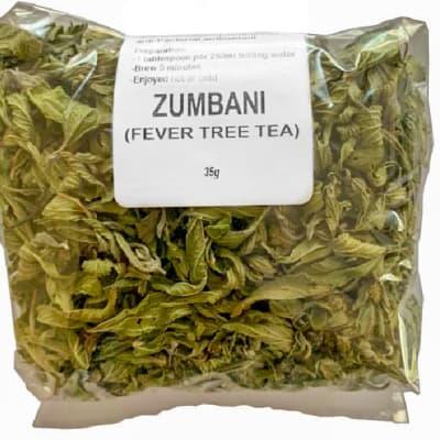 Herbal Tea Zumbani Fever Tree Tea  35g image
