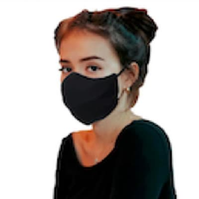 Unbranded 3 layer washable beak face mask image