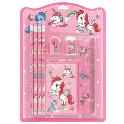 Jenam  Unicorn Pink Stationery Set image