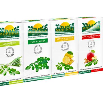 Herbal Teas Organic Superfood Variety Pack Moringa Miracle Teas image