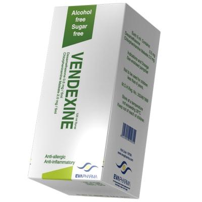 Vendexine  Antiallergic & anti-Inflammatory Syrup  125ml image