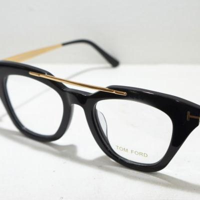 Tom Ford Eye glasses Frame - Black & gold image
