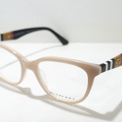 Burberry Full Rim Eyeglass Frames - Beige image