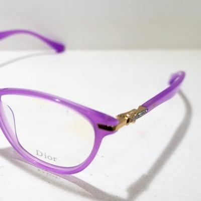 Dior Eye glasses Frame - Purple image