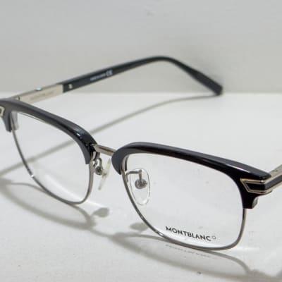 Mont Blanc Full Rim Eyeglass Frames - Black  image
