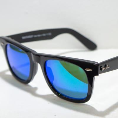 Ray-Ban Eye glasses Frame - Black blue tint image