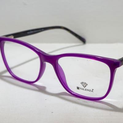 Valenza Eye glasses Frame - Purple and black image