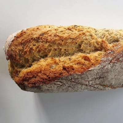 Tansi Kitchen -  White Sandwich Loaf with Seed Mix image