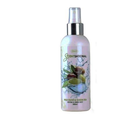 Air Freshener - Wild Olive & Green Tea Scentsational Room & Linen Mist image