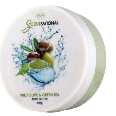 Body Butter Scentsational  Wild Olive & Green Tea 200g image