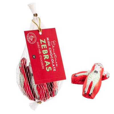 Woolworths Christmas Mini Chocolate Zebras image