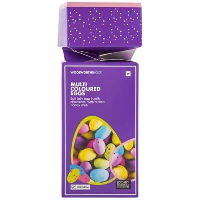 Woolworths Multi-Coloured Chocolate Eggs  image