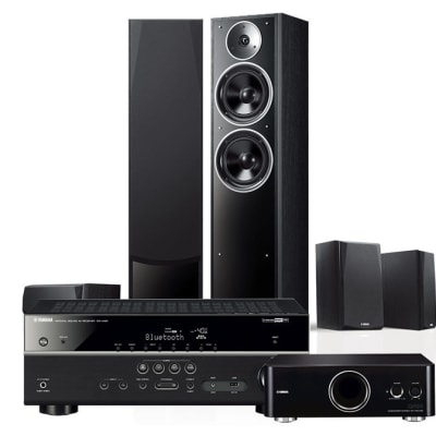 Yamaha 5.1 channel home theater audio home speaker amplifier set - NS-71 image