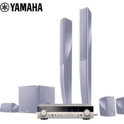 Yamaha  5.1 home theater audio combination system - NS-PA40+RX-S602 image