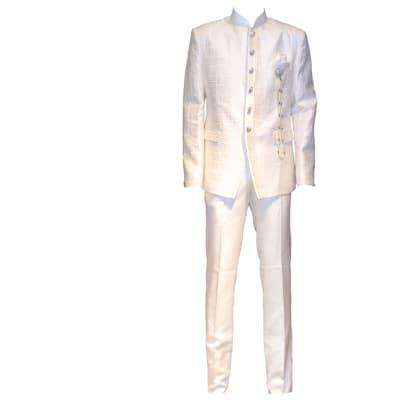 George Jodhpuri Suit Cream image