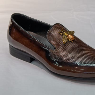 Glass Shoe Nobby Cavalli - Men's dark brown no lace image