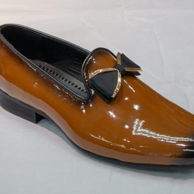 Glass Shoe Nobby Cavalli - Men's tan brown no lace image
