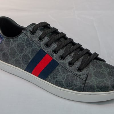 Gucci Canvas Sneakers - Women's grey  image