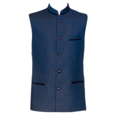 Modi Waist Coat Blue image