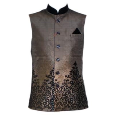 Modi Waist Coat Grey image