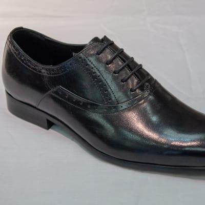 Smart Shoe Nobby Cavalli - Men's black smooth image