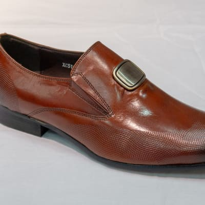 Smart Shoe Nobby Cavalli - Men's brown no lace with buckle image