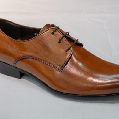 Smart Shoe Nobby Cavalli - Men's light brown two tone image