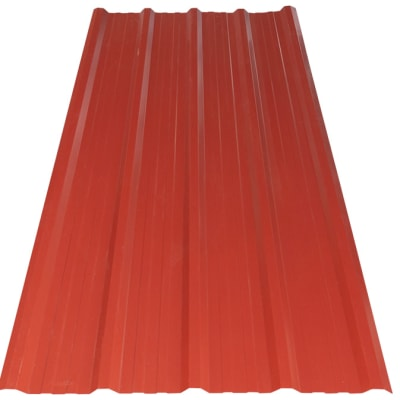 Steel Widespan Roofing Sheets  Red  image