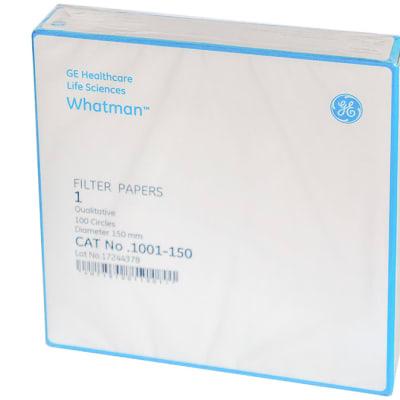 Whatman® Filter Papers  1 Qualitative  Diameter 150mm  100 Circles   image