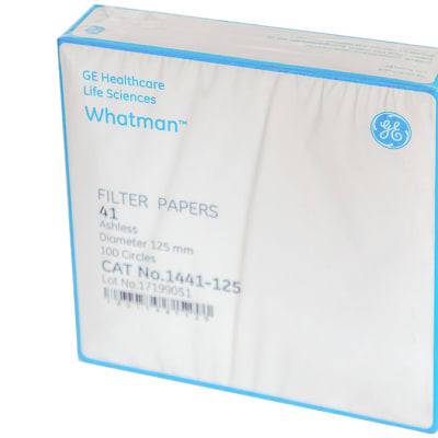 Whatman® Filter Papers  41 Ashless Diameter 125mm  100 Circles image