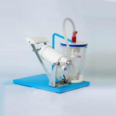 Suction Apparatus foot Operated with PC Jar (Vacumax) image