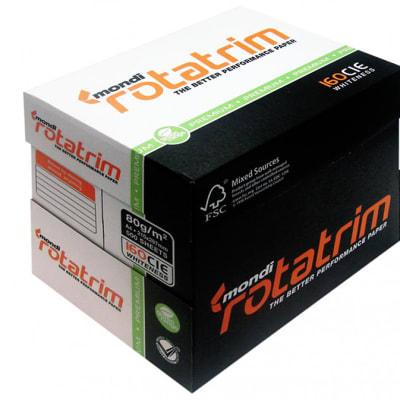 Bond Paper Rotatrim A4 Box image