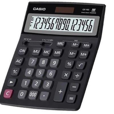 CASIO GX-16S Calculator 16 DIGITS image