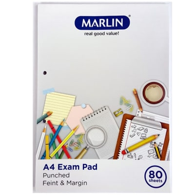 Exam Pad 80 Sheets image