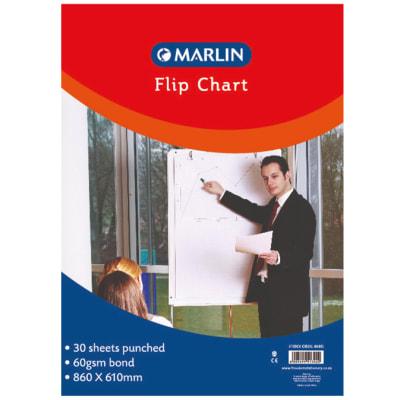 Flip chart pad 30 sheets image
