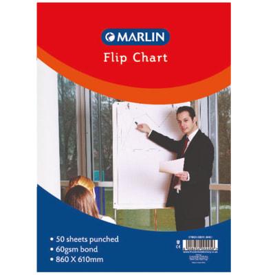 Flip chart pad 50 sheets image