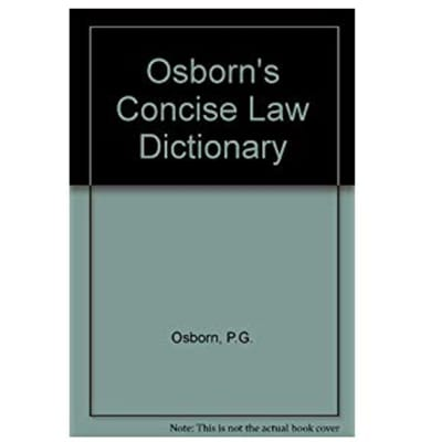 A Concise Law Dictionary image