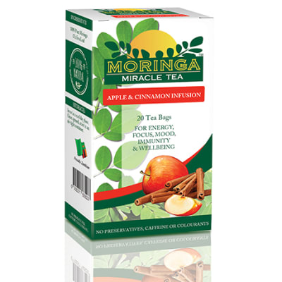 Moringa Tea Apple & Cinnamon Infusion  image