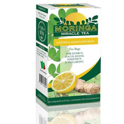 Moringa Tea - Lemon and Ginger image