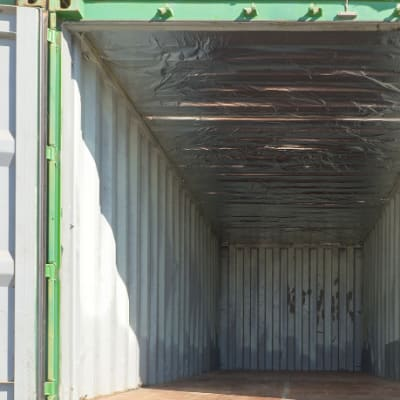 Empty storage containers image